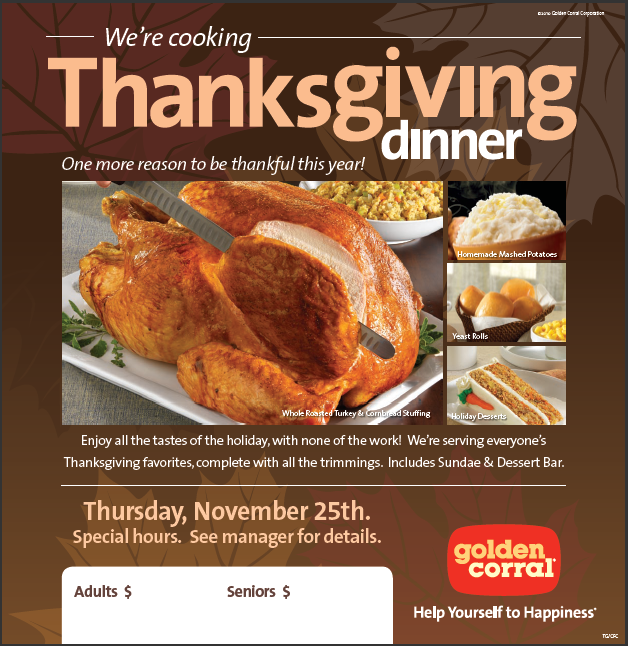 Printable coupon golden corral restaurant