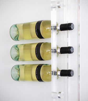 acrylic wine holder
