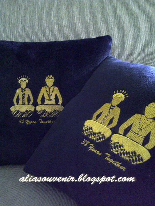 Bantal Bordir Wedding Design