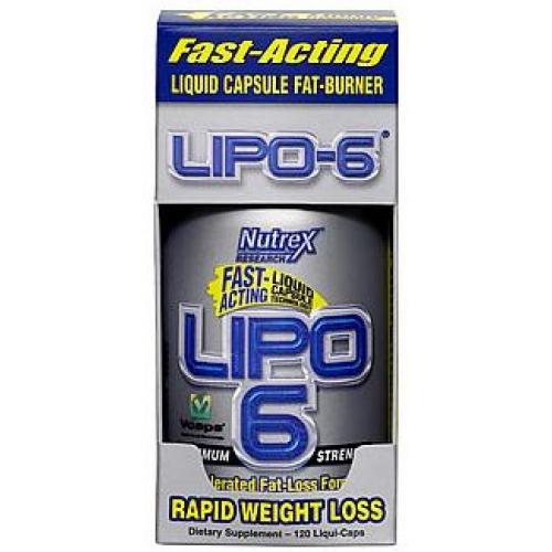 Lipo-6 fast-acting liquid capsule fat-burner