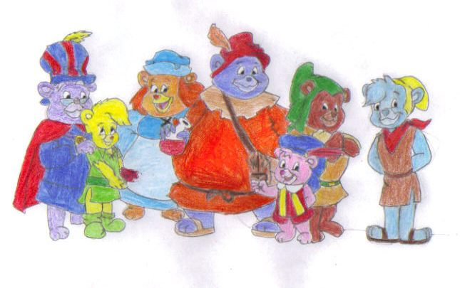 disneys adventures of the gummi bears wallpaper