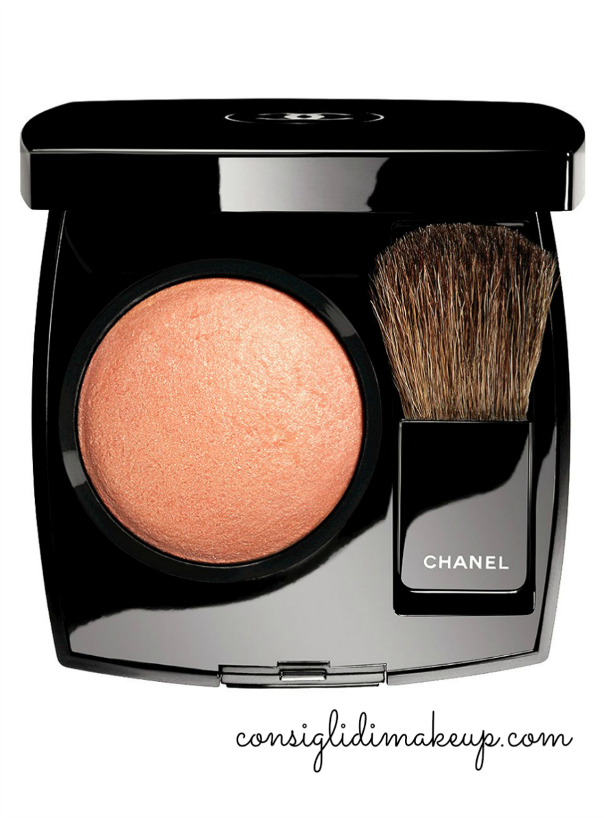 joues contraste caresse blush chanel natale 2014
