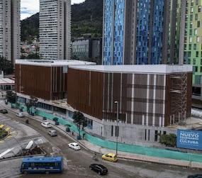 Esta es la nueva Cinemateca de Bogotá en la rotonda de la Carrera 3 entre 19 y 20