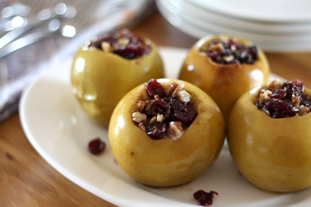 Stuffed Apples ~ In The Crock-Pot or In The Oven recipe by Barefeet In The Kitchen