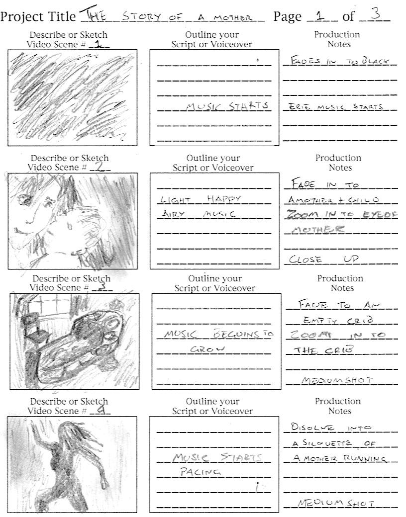 storyboard assignment The goal of this assignment is to practice end-to-end rapid prototyping  [3 points ] draw a storyboard, on paper, that depicts your user and what.