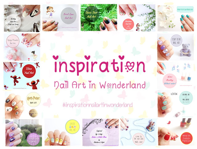 Inspiration Nail Art in Wonderland - #inspirationnailartinwonderland
