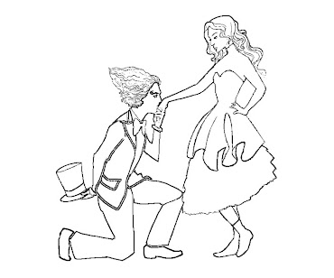 #1 Alice in Wonderland Coloring Page