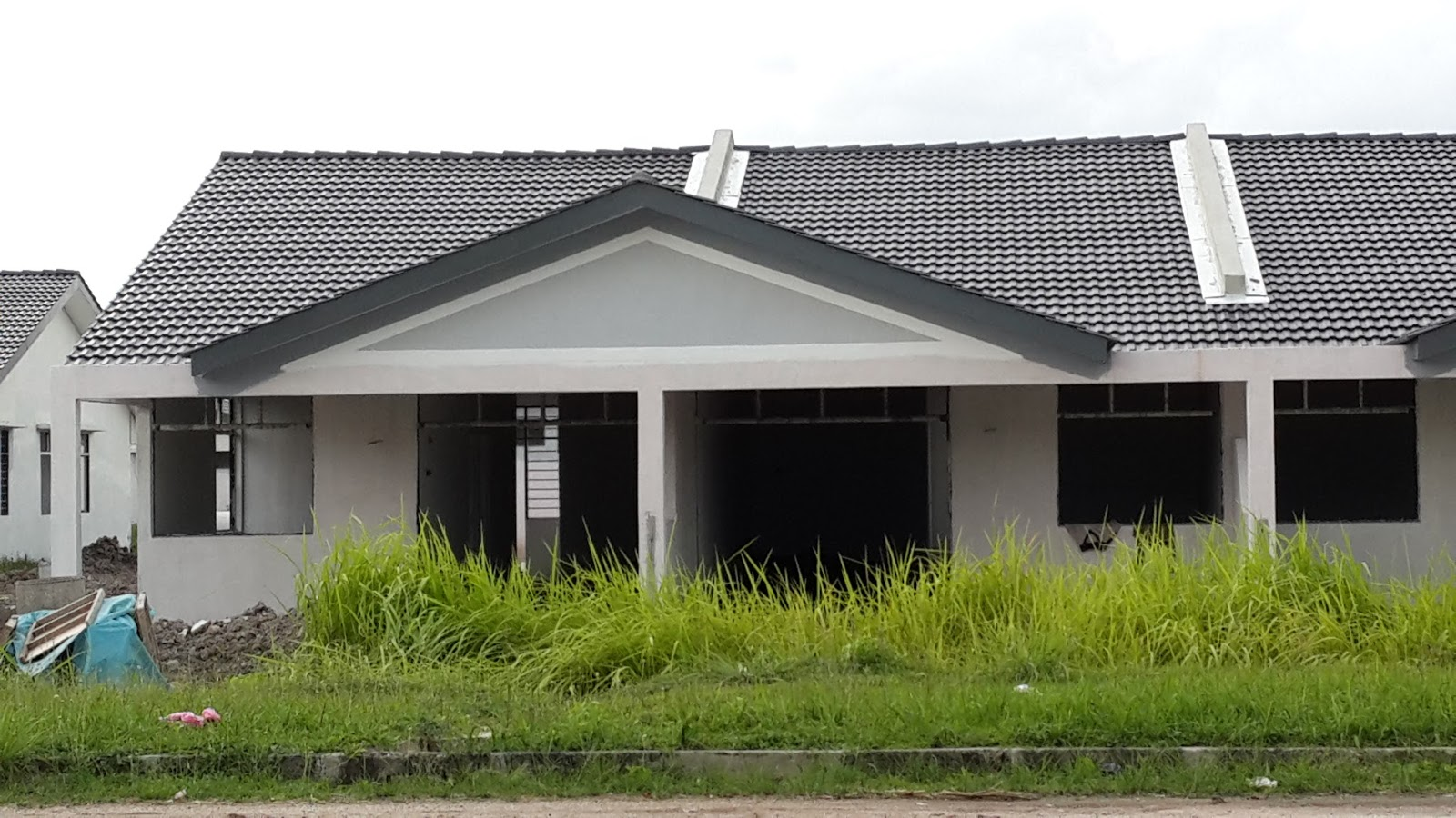 sayangkuZie: Taman Lagenda Padang Serai : Dalam Pembinaan