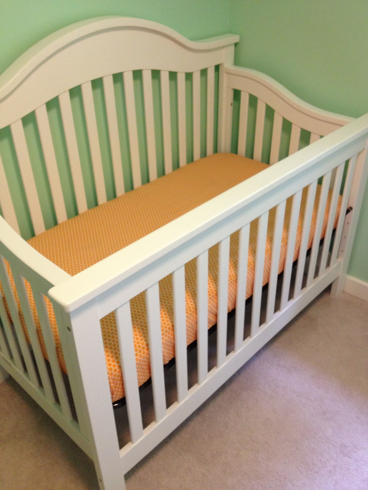 Baby bed sheet pattern - Fitted Crib Sheet Tutorial