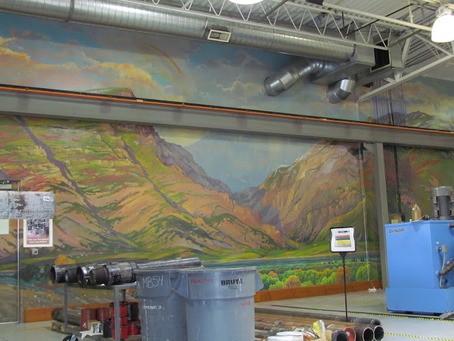 Rock Canyon Mural (First Mural For Novatek)