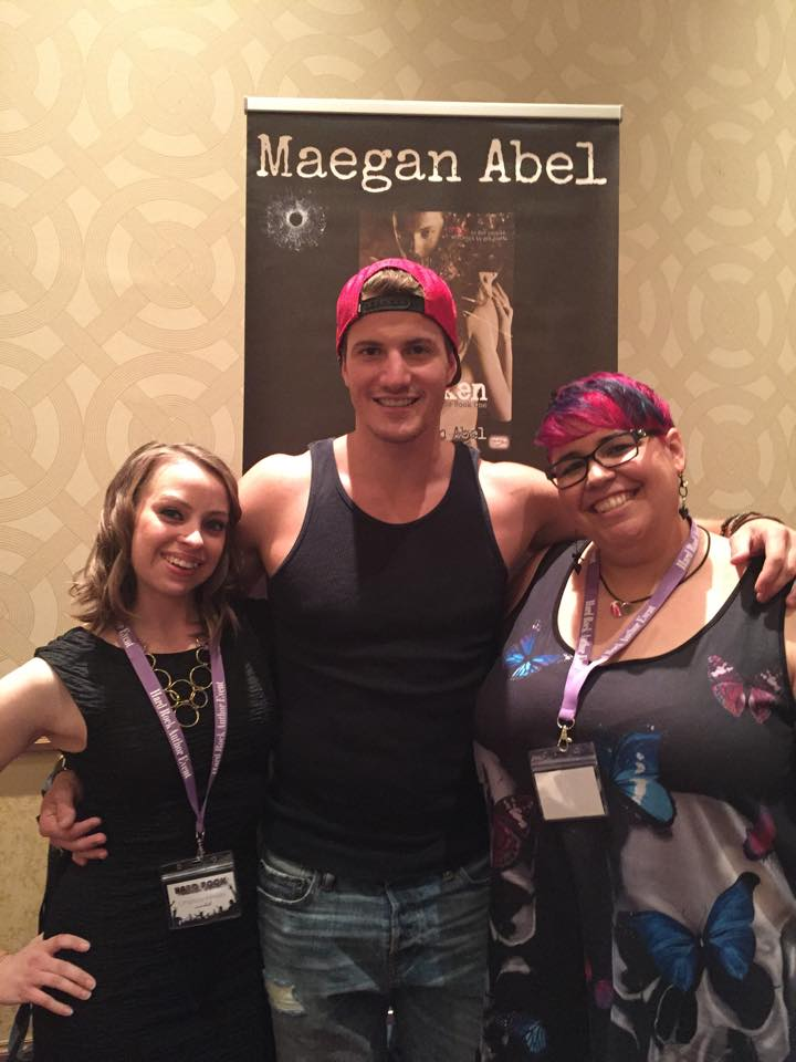 Maegan with her models Tyler and Lindsey