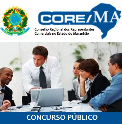 Edital Concurso CORE Maranhão 2017