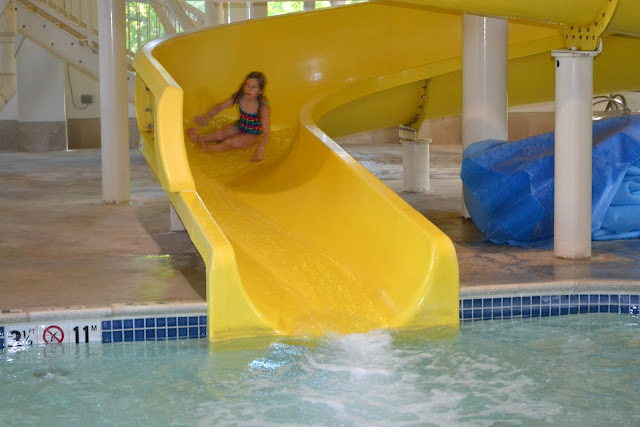 Hampton Inn & Suites Water Slides