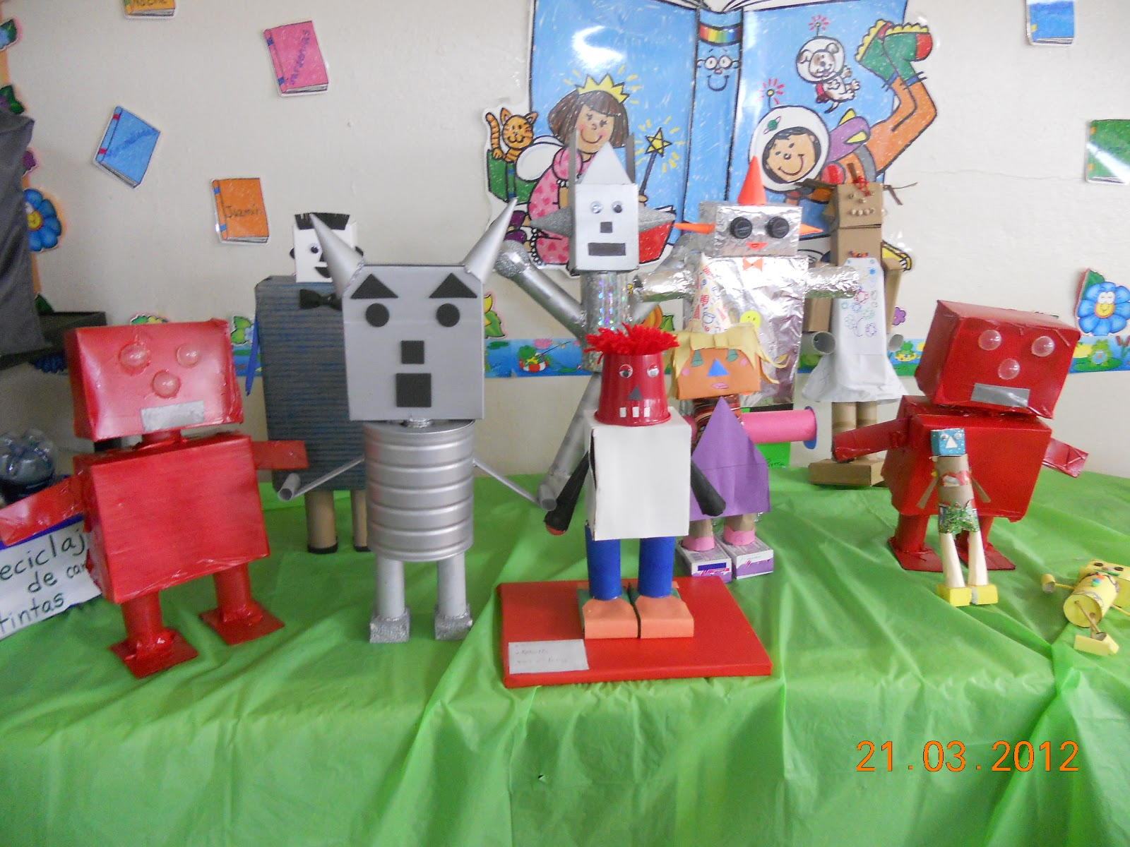 Como Hacer Un Robot Con Figuras Geometricas