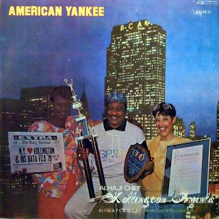 Alhaji Chief Kollington Ayinla andhis Fuji 78 Organisation -American Yankee, PolyGram Records 1987
