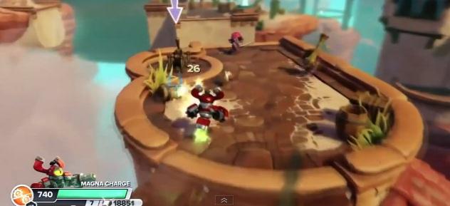 Magna Charge in video game Skylanders: Swap Force