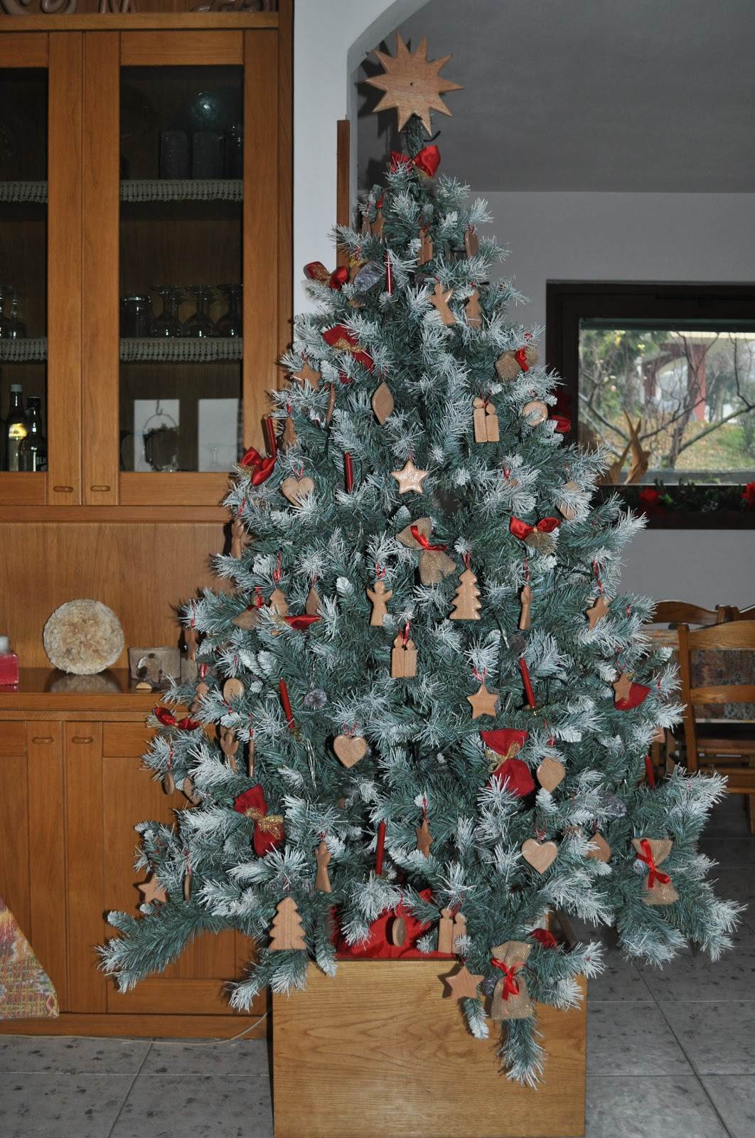 Il legno di carmen il mio albero di natale for Albero di natale di legno