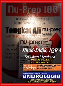 IQRA, bacalah-1 permulaan yang baik bersama Nu-Prep100 US,EUpatent