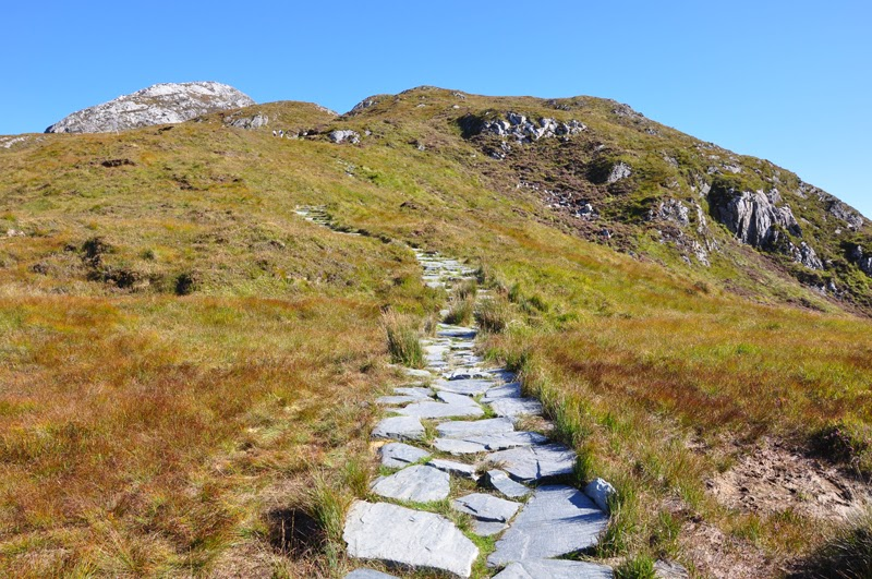 aIrland 2014 - Vorspann | Packen | Der Diamond Hill Walk in Connemara