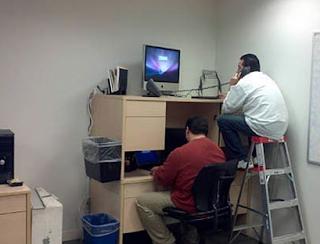 Smešne slike: Dva računarska manijaka