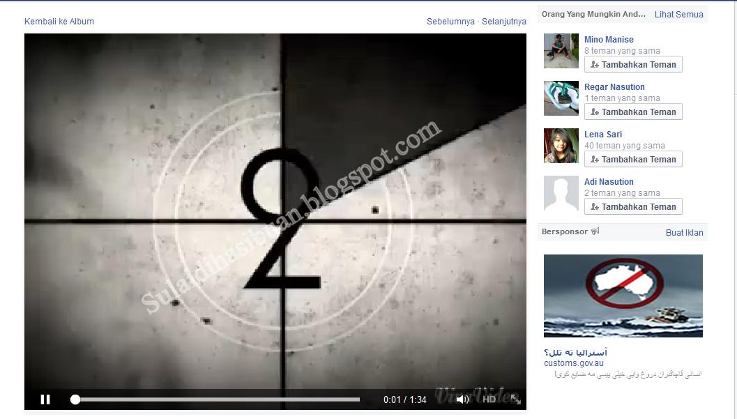 Cara Download Vidoe di Facebook