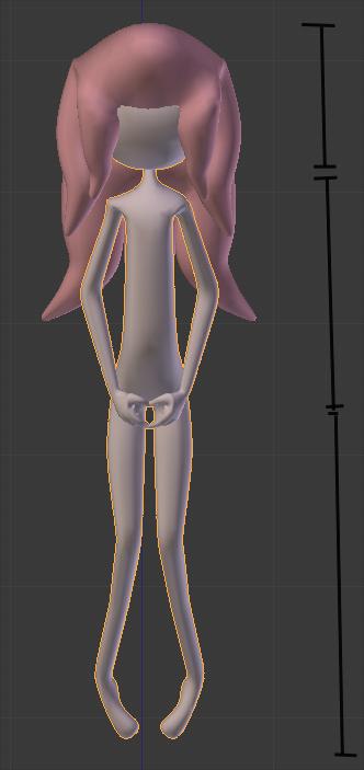 Anime Character Modeling Blender : Modeling exploring anime form in d using skin modifier