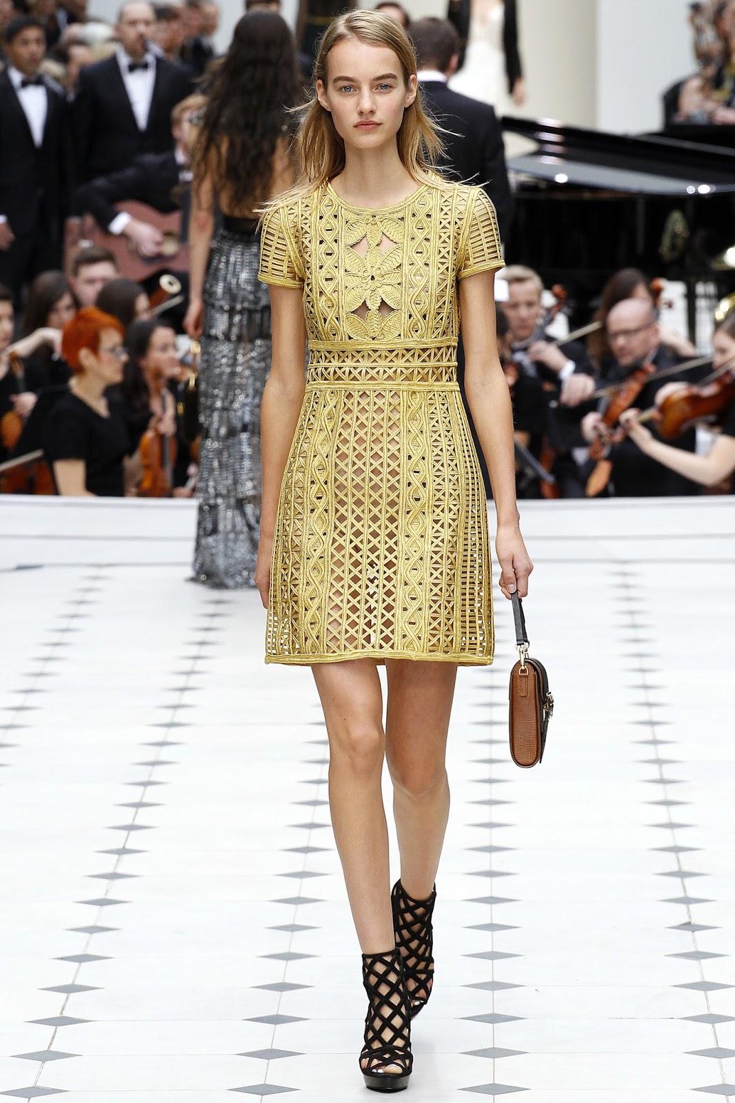 Burberry Prorsum Spring/Summer 2016 / London fashion week via www.fashionedbylove.co.uk