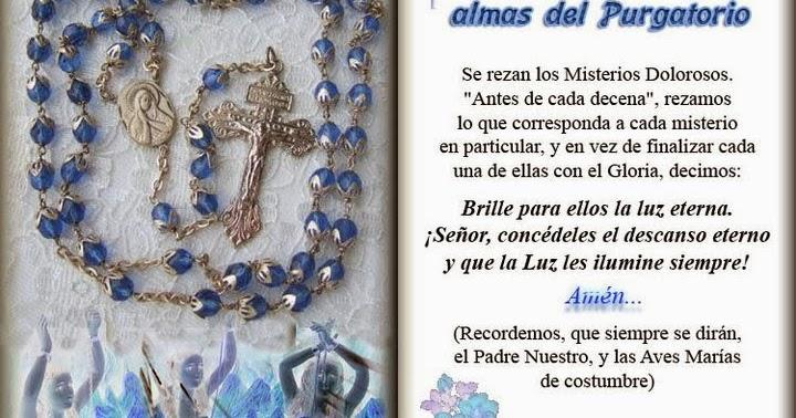 Resultado de imagen para Rosario de la Milagrosa por las almas del purgatorio