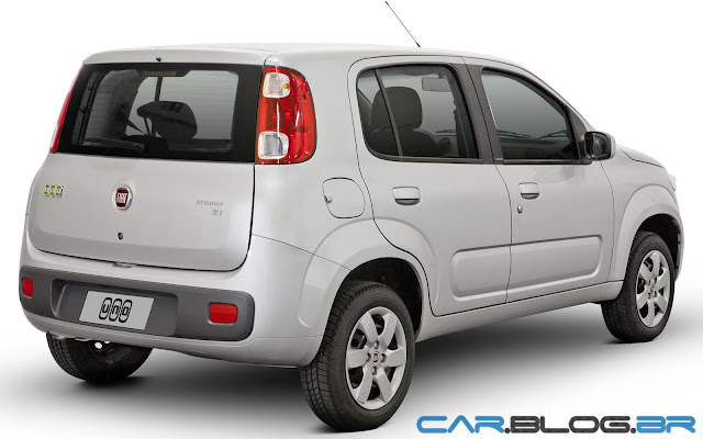 Fiat Uno 2013 Economy - prata