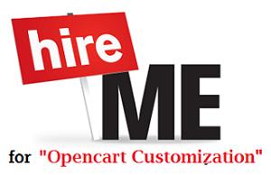 opencart Customization