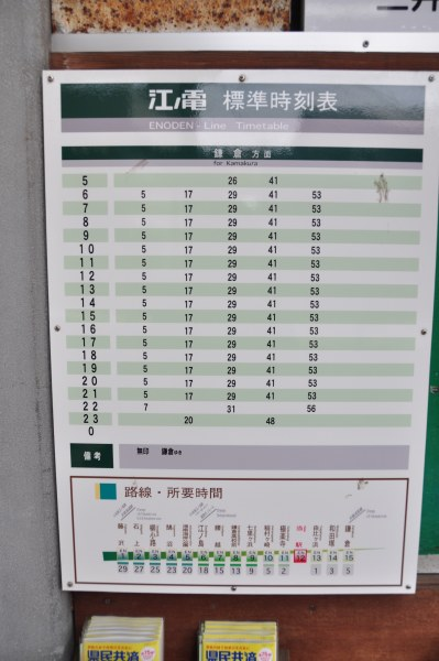 how to read go train schedule