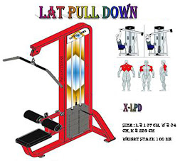 Lat Pull Down Red