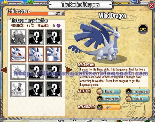 Formasi kekuatan yang dimiliki Wind dragon