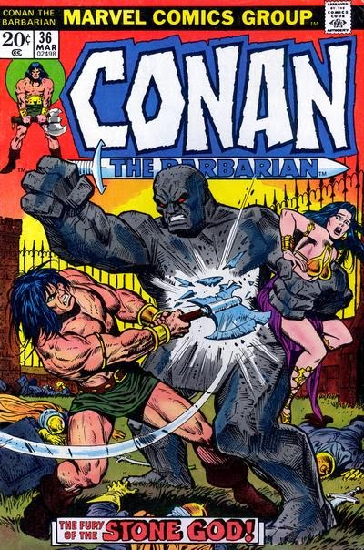 Conan the Barbarian #36