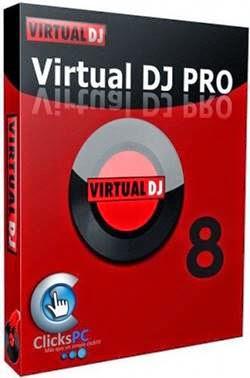 Capa Virtual DJ Pro 8 Torrent