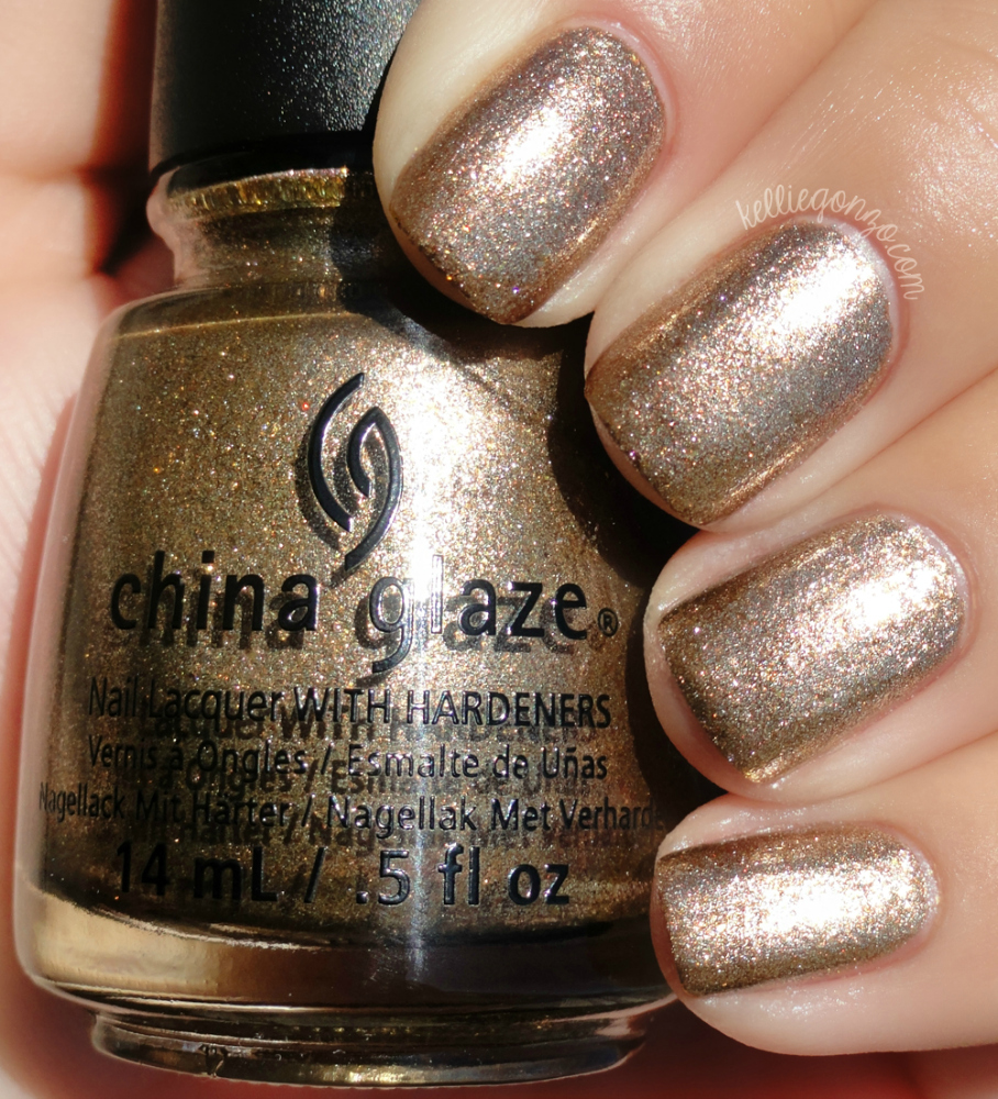 China Glaze - Goldie But Goodie