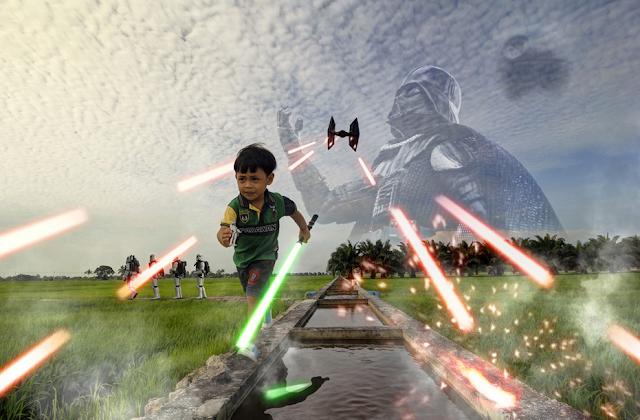 7 Photo Manipulasi Apabila Star Wars Menyerang Tanjung Karang Yang Gempak Habis