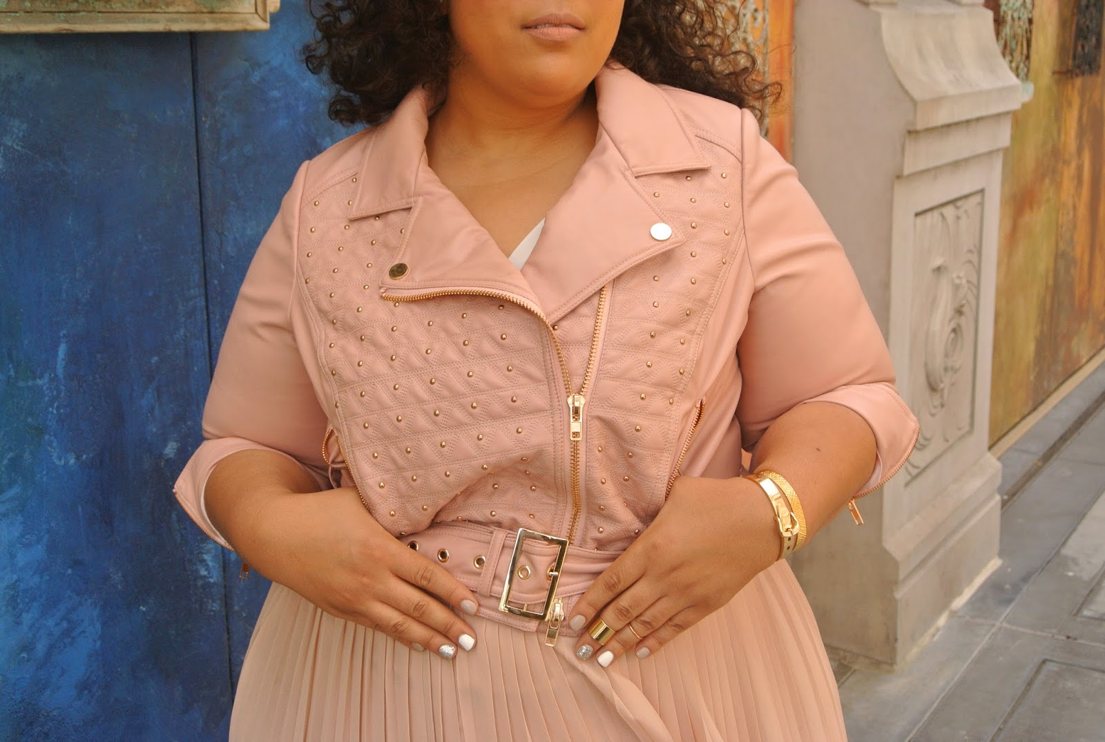 Blush Outfit, Plus Size Blush Outfit,