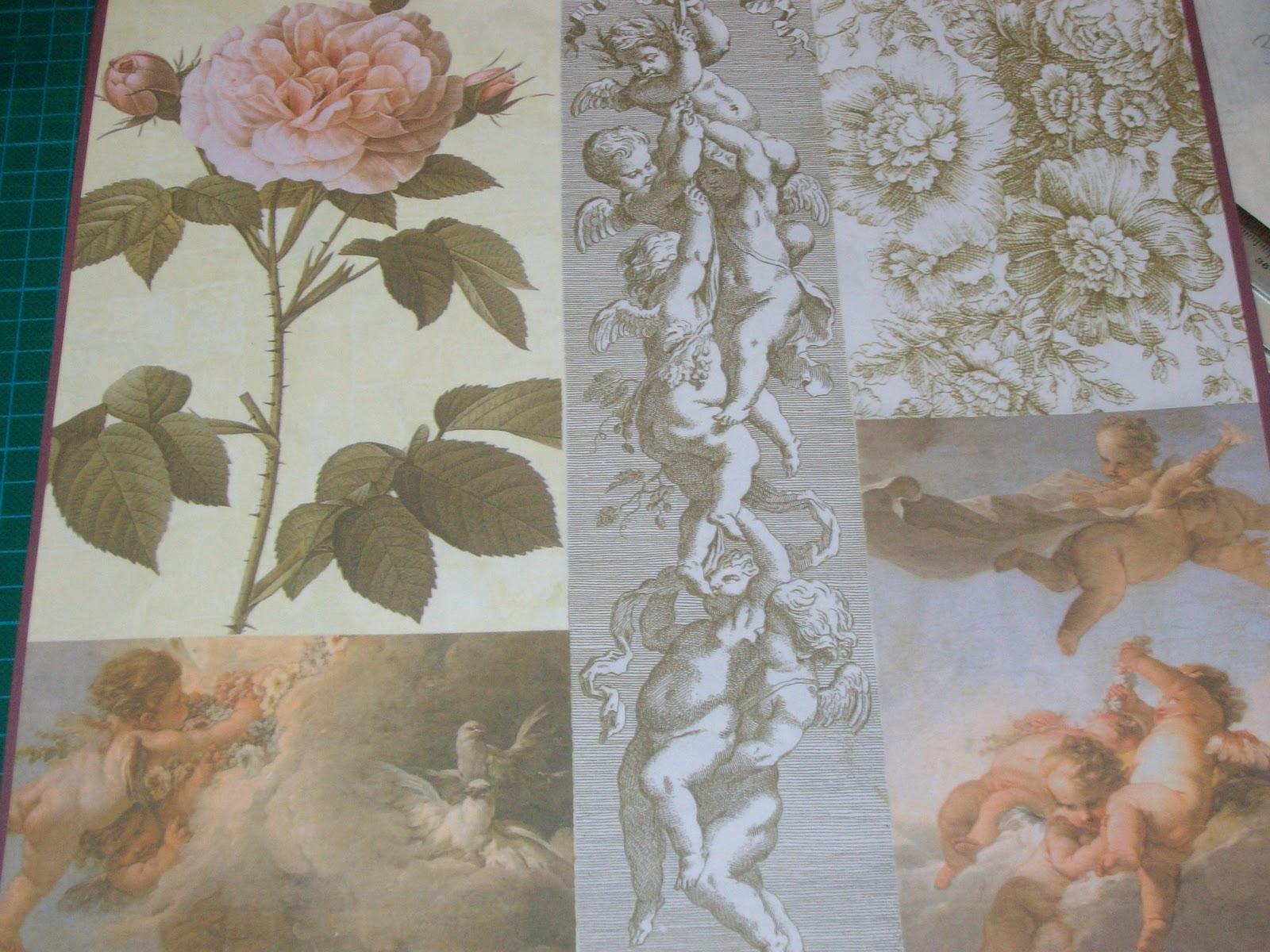 Papeles servilletas y telas de tere papel ngeles 02 - Papeles y telas ...