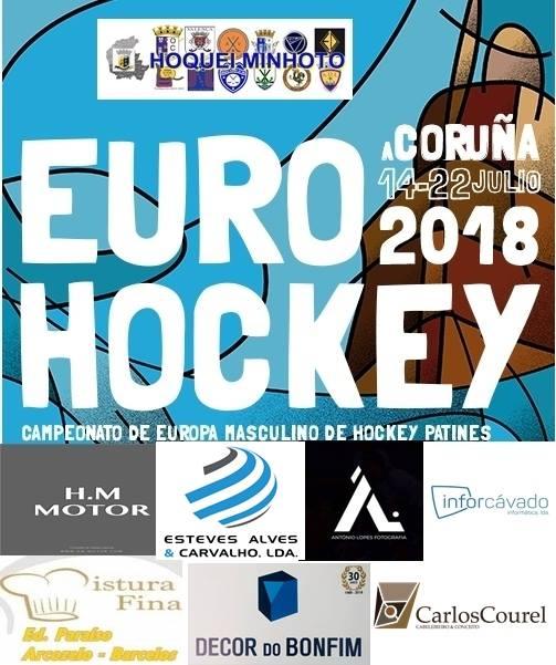 CAMPEONATO DA EUROPA CORUNHA 2018