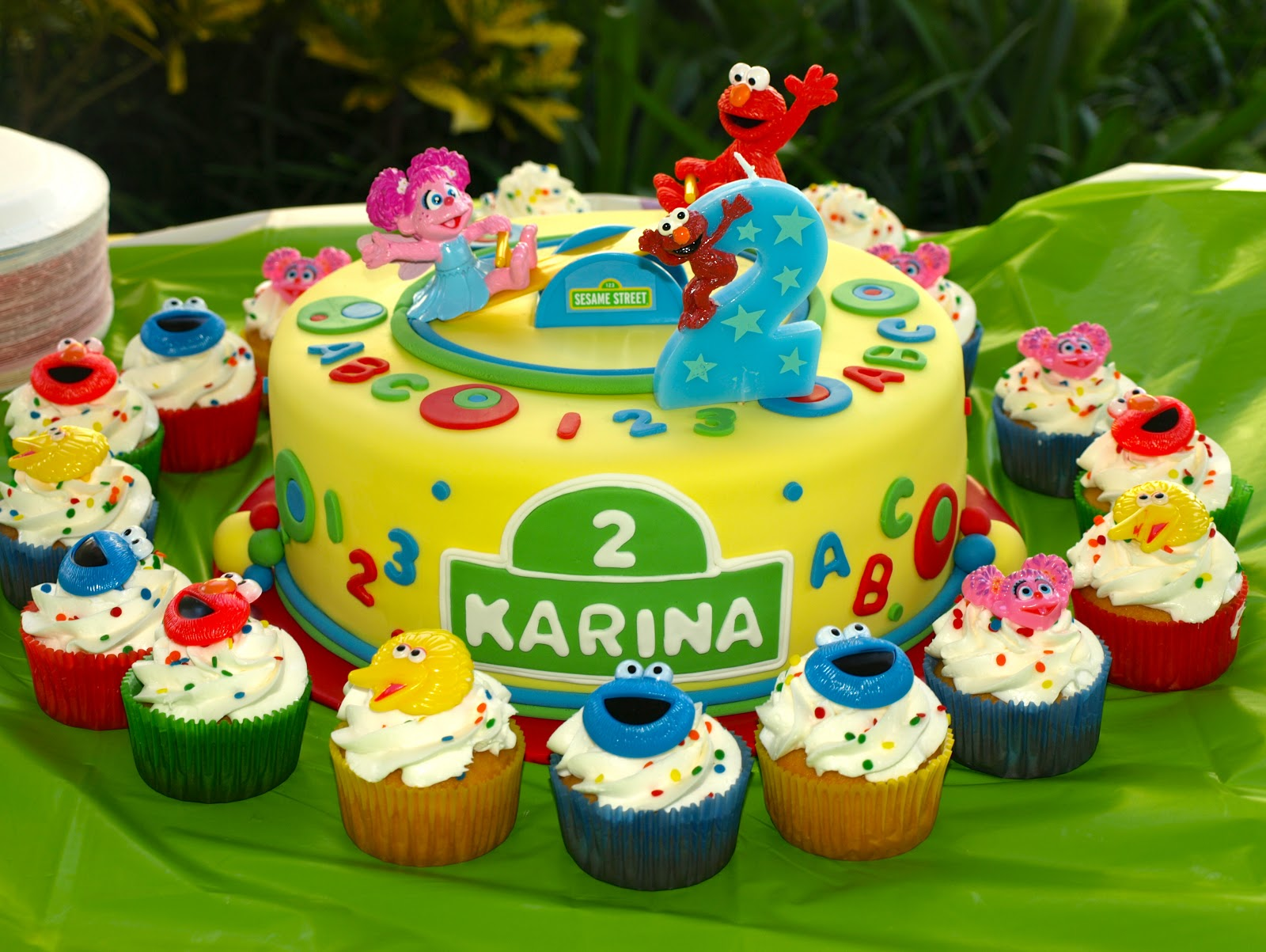 Give Me Some Sugar Karinas Second Birthday