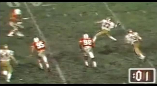 doug flutie hail mary throw boston college miami