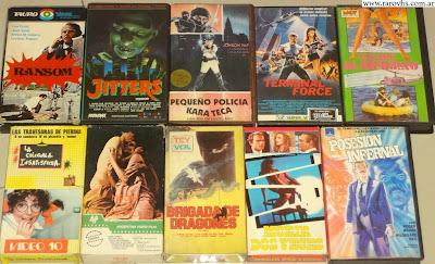 Lote de VHS