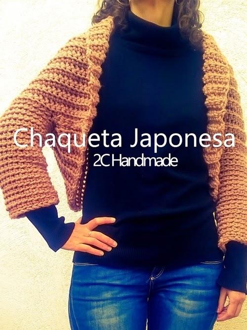 2C HANDMADE: CHAQUETA JAPONESA