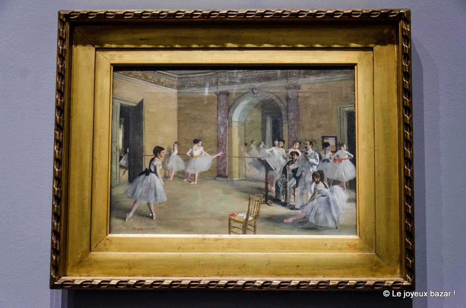 Edgar Degas Le Foyer de la danse de l'Opéra de la rue Peletier 1872 Huile sur toile, 32 x 46 cm Paris, Musée d'Orsay