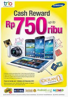 Promo Samsung Cash Reward Sampai Rp 750 Ribu