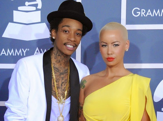 Amber Rose Says Family Skipped Her Wedding To Wiz Khalifa Because Hes African American