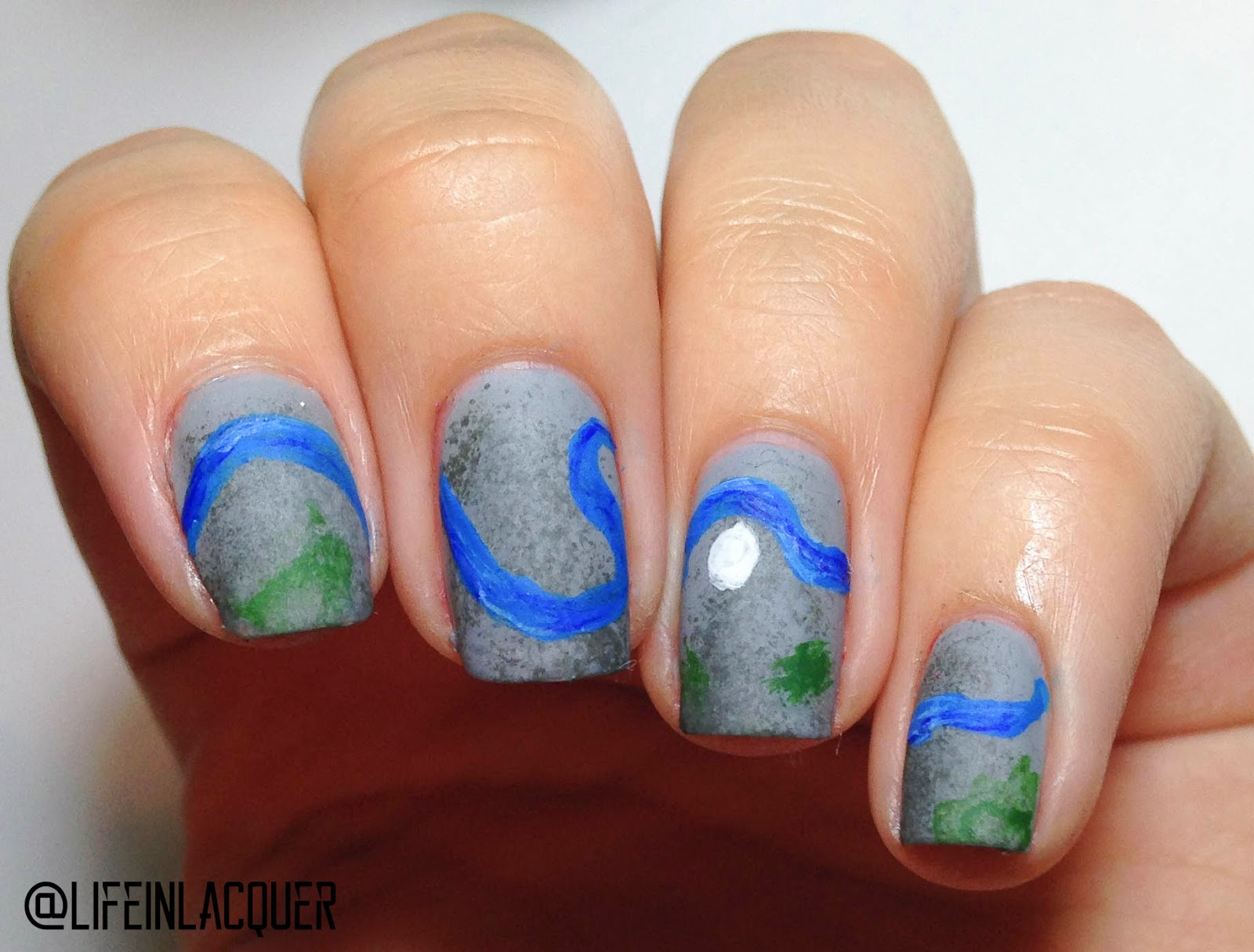 White lacquer paint u design blog - Life In Lacquer Life In Lacquer Nail Art Challenge