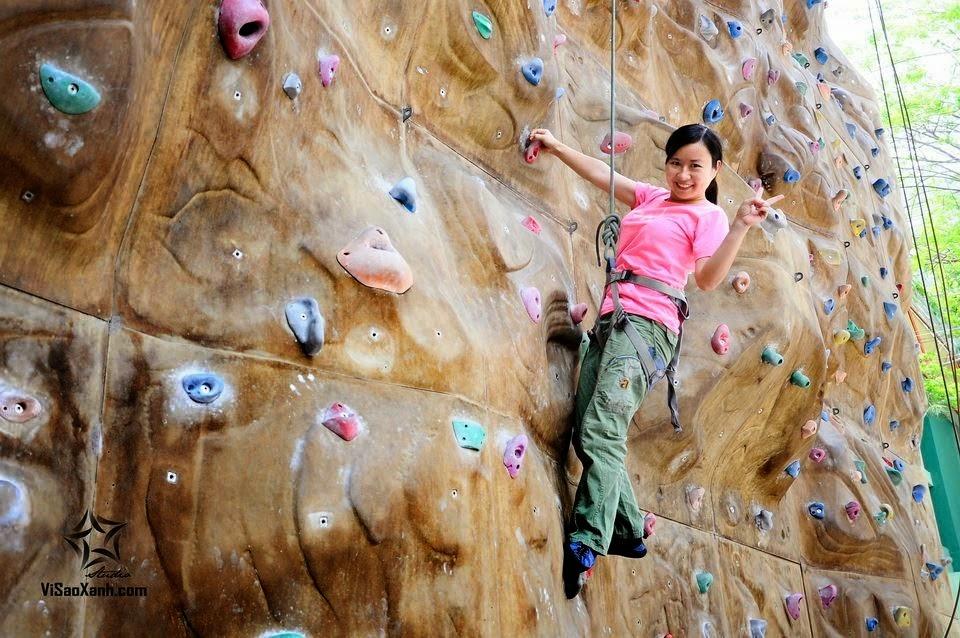 Nguyễn Thị Thu Hương và hoạt động trèo núi nhân tạo