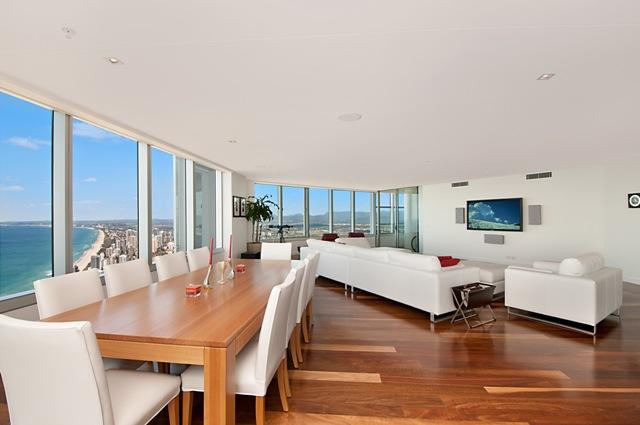 Casas minimalistas y modernas el living comedor moderno for Modelos comedores